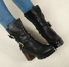 New style women fashion boots XD-HF333-5 black