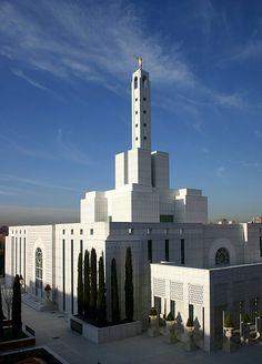 Madrid Temple - http://www.everythingmormon.com/madrid-temple/  #mormonproducts #LDS #mormonlife