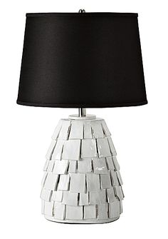 The 'Bolinas Ceramic Lamp' by Serena & Lily.  http://www.lonnymag.com/issues/43-lonny-october-2012/pages/1#p10