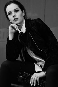 Stay elegant from day to night in our timeless black and white ensemble. #MyIRFG #IWearIvanaRosova  www.ivanarosova.com