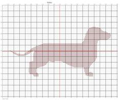 Walter - Dachshund PDF Cross Stitch Pattern - for Oscar Blankie??