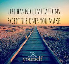 no limits / ONEDOZENREASONS.