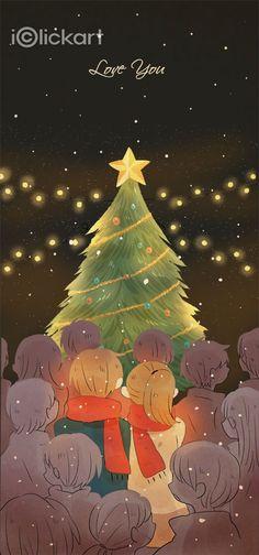 #christmas   #couple   #home   #winter   #relax   #image   #illustration   #stockimage   #iclickart   #npine