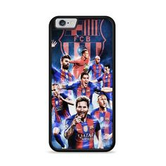 Barcelona Fc Lionel Messi With Friend_ iPhone 6 Plus 6S Plus Case – Miloscase Iphone 8 Plus, Iphone 6, 6s Plus Case, Plastic Material, Lionel Messi, Fc Barcelona, How To Know, Perfect Fit, How To Apply