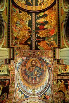 Agios Minas ceiling, Heraklio, Crete