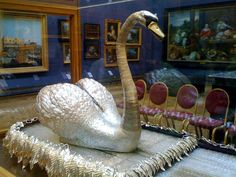 The Infamous Silver Swan in the Bowes Museum