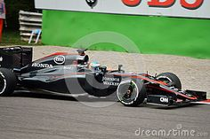 McLaren MP4-30 F1 Driven By Fernando Alonso At Monza - Download From Over 35 Million High Quality Stock Photos, Images, Vectors. Sign up for FREE today. Image: 58940964