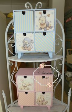 Decoupage, Vintage Wood, Porcelain, Baby Boy, Baby Shower, Country, Painting, Tea Box, Decorated Boxes