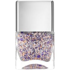 Nails inc Luxe Boho Primrose Hill Walk Nail Polish/4.37 oz. ($15) ❤ liked on Polyvore featuring beauty products, nail care, nail polish, apparel & accessories, nails inc nail polish, flower nail polish and nails inc.