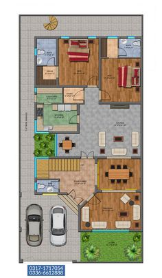 40x60 House Plans, Bungalow Floor Plans, House Plans Mansion, Indian House Plans, Free House Plans, Sims House Plans, House Layout Plans, Duplex House Plans, Family House Plans