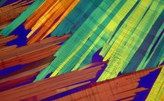 Benzoic Acid melt crystal | 2009 Photomicrography Competition | Nikon Small World
