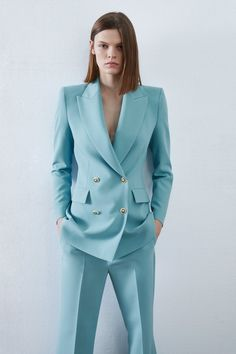 Suits For Women, Clothes For Women, Homecoming Dresses Long, Corporate Outfits, Royal Dresses, Blazer Outfits, Flare Pants, Zara, Business Fashion