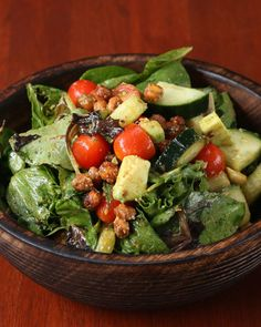 Enjoy Lunch Even More With This Roasted Chickpea And Avocado Salad