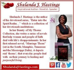 #Author #novelist and #evangelist Shulanda Hastings