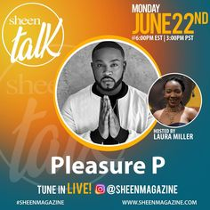 Soooo.. I definitely want to ask @pleasurep about #boyfriendnumber2 because that's my JAM!! Join me live tomorrow at 5PM CST on @sheenmagazine 's INSTA Number 2, Join, Live, Movie Posters, Film Poster, Billboard, Film Posters