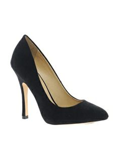 Black suede pumps ASOS