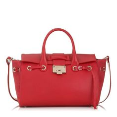 The Jimmy Choo Rosa Handbag in Cherry