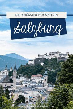 Salzburg ist unheimlich fotogen. Diese Fotospots und Aussichtspunkte über die Altstadt von Salzburg solltest du dir auf keinen Fall entgehen lassen! #Salzburg #Fotografie #Fotospots #Aussichtsplattform #Österreich