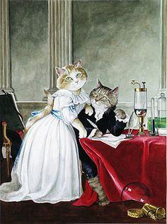 adelina_4 - Кошачьи пародии Сьюзен Херберт. Часть- 3.