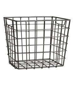 Check this out! Metal wire basket with handles at sides. Size 5 x 5 1/2 x 6 1/4 in. - Visit hm.com to see more.