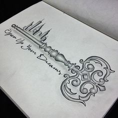 A favorite of mine for a tattoo. Only mine would read...A Dream is a Wish your Heart makes. #Love #Cinderella