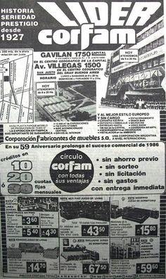 Corfam Muebles 1986