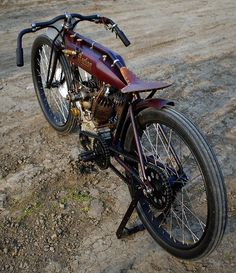 Bobber Inspiration | Indian board tracker | Bobbers and Custom Motorcycles | the-ghost-darkness July 2014