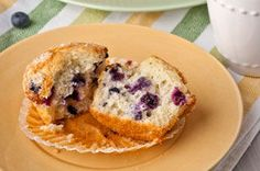 Is your standard muffin recipe missing something?  Maybe it's the blueberries!  Try this moist and scrumptious blueberry muffin recipe that's bursting with great blueberry flavour!