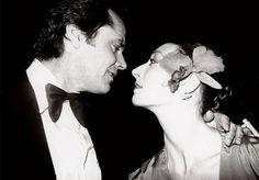 Anjelica Huston with Jack Nickolson