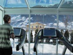 Facebook im Fitnessraum - Berge - Aussicht - Auspowern - www.held.at Mountain Hiking, Hotel Spa, Held, Skiing, Australia, Spaces, Facebook, Sport, Water