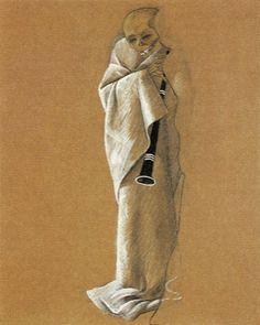 Felix Nussbaum (Germany, 1904 - Auschwitz, 1944)  Death Triumphant, 1944