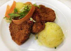 Denné menu Vranov | Vyprážané rezníky zo sójových plátkov, mastené zemiaky - reštaurácia Hotel Patriot*** #hotel #restauracia #dennemenu
