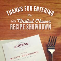 Thank you to all the creative cooks who have entered their grilled cheese recipes in the 2014 Grilled Cheese Recipe Showdown! For those who have not yet submitted a recipe, today is your last chance – the contest will no longer be open for entry after 11:59 p.m. EDT. http://bit.ly/1nlagjW