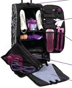 Ten Thngs Every Figure Skater Needs to Pack Inside a Skate Bag