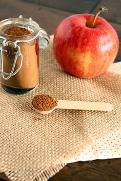 Make your own apple pie spice – a perfect mixture of spices for your favorite fall treats & rustic soups.
