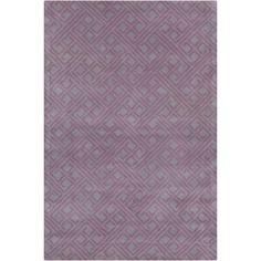 Filament  LLC Cinzia Purple Geometric Area Rug
