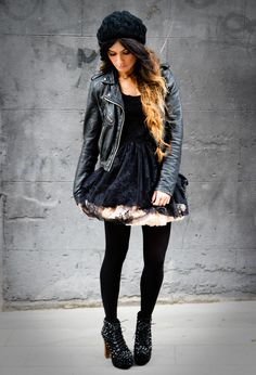 6ee57dac9908e Very much loving the tulle skirt trend - American Apparel skirt - Jeffrey  Campbell shoes - Primark dress.