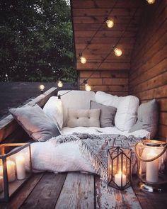 Living Room Decor - Wohnzimmer Dekor - List of the best home decor Outdoor Spaces, Outdoor Living, Outdoor Seating, Outdoor Sheds, Outdoor Lounge, Boho Lounge, Outdoor Cinema, Outdoor Retreat, Backyard Retreat