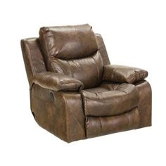 Catnapper - Catalina Swivel Glider Recliner in Timber - 4310-5-TIMBER