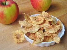 Appel chips gezond tussendoortje - apple chips healthy food