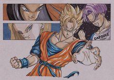Dragon Ball Z: Light of Hope. Dragon Ball Z, Mirai Gohan, Anime Echii, Ball Drawing, Dbz Characters, Marvel Art, Akira, Illustration, Character Design