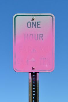COLOR | One hour...