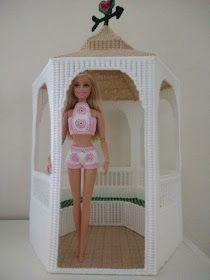 Crochet for Barbie (the belly button body type): Granny Square Summer Short Set Crochet Barbie Patterns, Barbie Clothes Patterns, Crochet Barbie Clothes, Baby Patterns, Crochet Dolls, Doll Patterns, Clothing Patterns, Dress Patterns, Barbie Dolls Diy