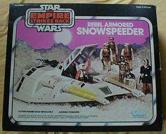 Star Wars toys I had, wish I still did: Rebel Armored Snowspeeder