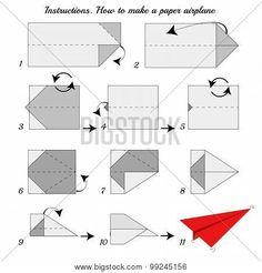 como hacer un avion de papel paso a paso - Buscar con Google