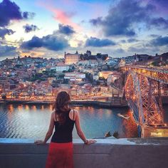 Forever in this romantic medieval city Porto! Porto Portugal, Spain And Portugal, Portugal Travel, Places Around The World, Around The Worlds, Wonderful Places, Beautiful Places, Porto City, Douro