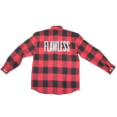 Beyonce's Latest Merch Is Grunge-Friendly ❤ liked on Polyvore featuring tops, shirts, jackets, buffalo check shirt, red flannel shirt, red shirt, long sleeve tops and long-sleeve shirt