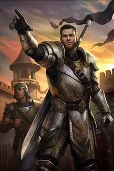 m Fighter Castle Guard Captain Plate Armor Greatsword story Elder Scrolls Legend Card 663 The Elder Scrolls, Elder Scrolls Online, Fantasy Heroes, Fantasy Art Men, Fantasy Armor, Fantasy Weapons, Medieval Fantasy, Dnd Characters, Character Concept