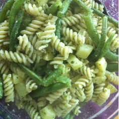 Trenette with pesto, potatoes and green beans  @allrecipes.co.uk