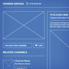 Social network ui ux blueprint wireframe best web design social network ui ux by waseem arshad via behance 2p2p wireframesocial networkswebsite designsui malvernweather Images